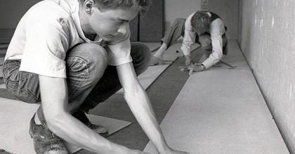 Att lägga nytt golv